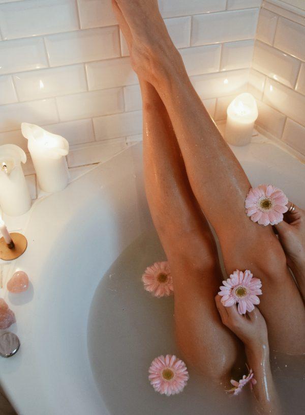 Een bad voor meer zelfliefde